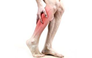 Растяжение икроножной мышцы